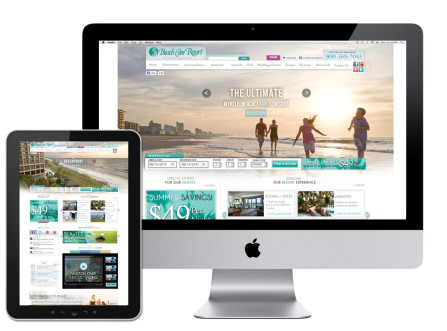 Beach Cove Resort Website