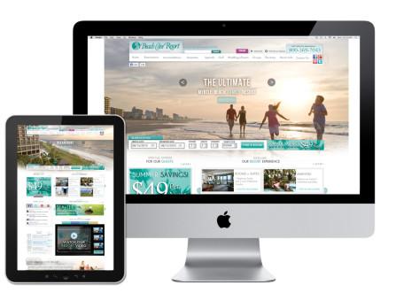 Beach Cove Resort Website