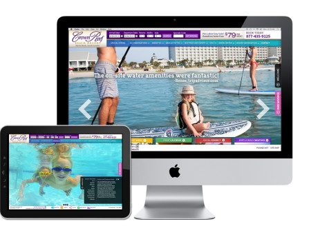 Crown Reef Resort Website
