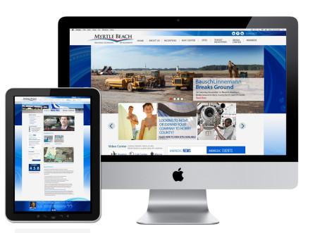 Myrtle Beach Regional Economic Development Website