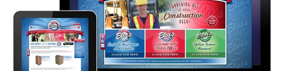 Elvis Service Company Website