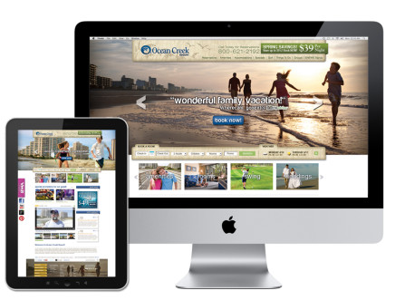 Ocean Creek Resort Website