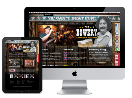 The Bowery Website