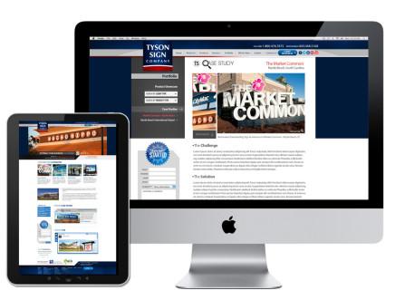 Tyson Sign Company Website