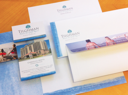 Tilghman Beach & Golf Resort Corporate Identity