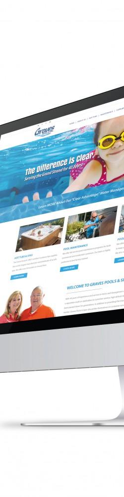 Graves Pools & Spas Website