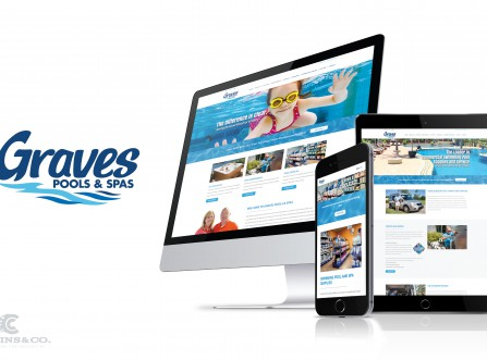 Graves Pools & Spas Website