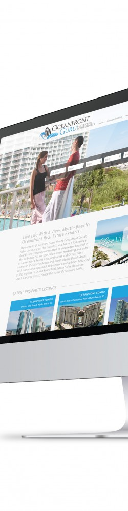 Oceanfront Guru Website