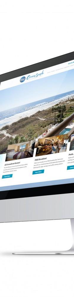 Ocean Sands Beach Resort Website
